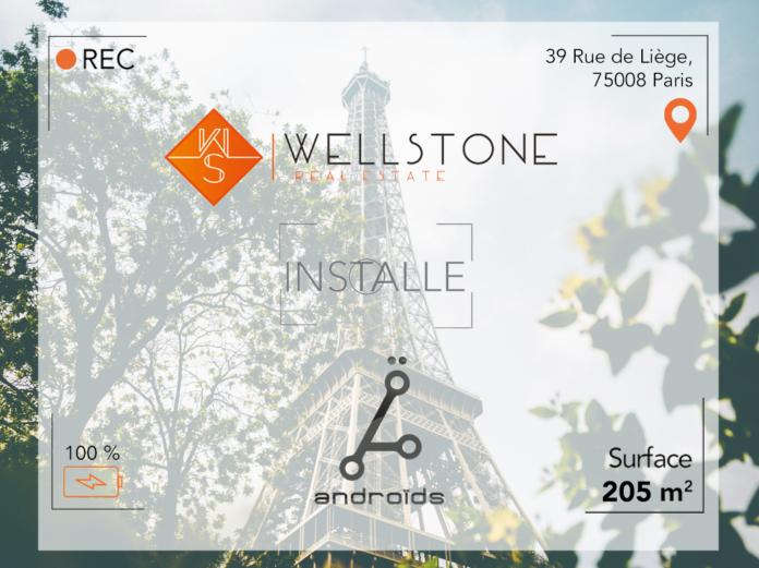 Wellstone installe Androïds Associés