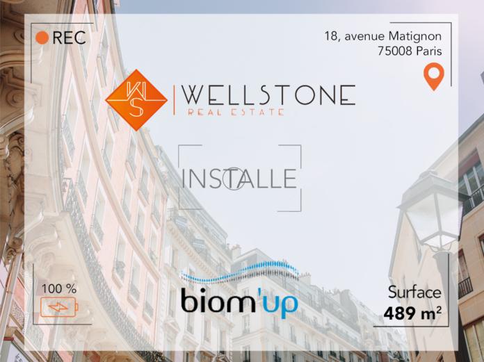 Wellstone installe Biom'Up