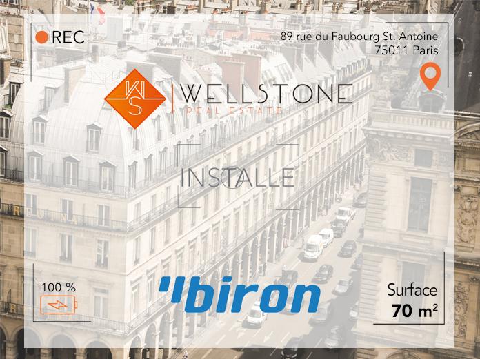 Wellstone installe Biron