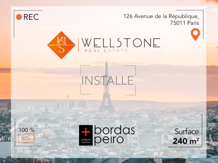 Wellstone installe Bordas+Peiro