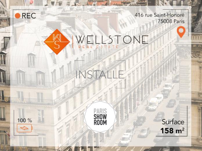 Wellstone installe Paris Showroom