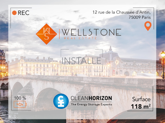 Wellstone installe Clean Horizon