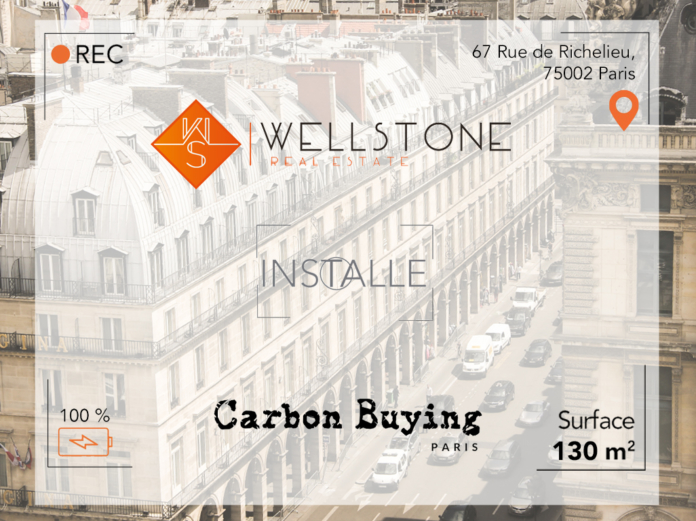 Wellstone installe Carbon Buying