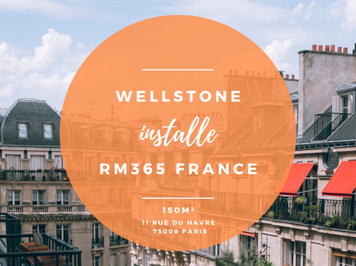 Wellstone installe RM365 France