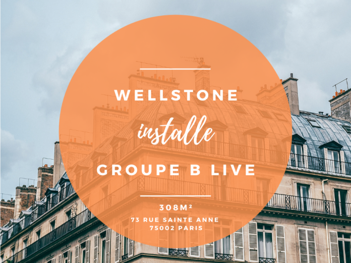 Wellstone installe le GROUPE B LIVE