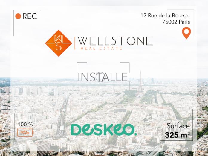 Wellstone installe Deskeo