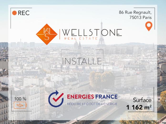 Wellstone installe Energies France