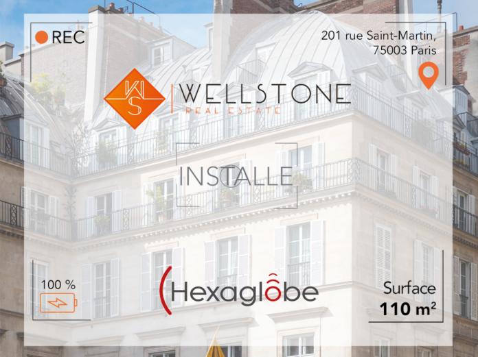 Wellstone installe Hexaglobe