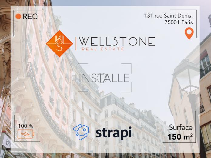Wellstone installe Strapi