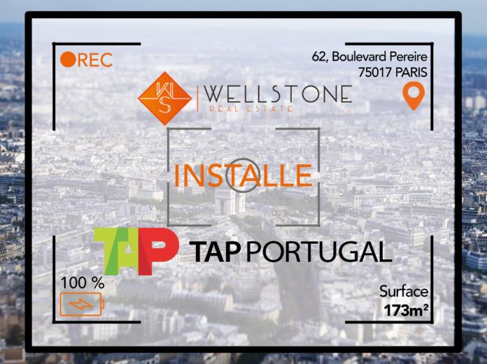 Wellstone installe la compagnie TAP Portugal