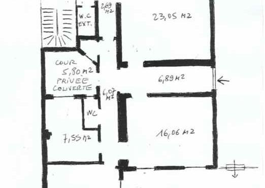 A LOUER Bureaux 100m2 ref 954400