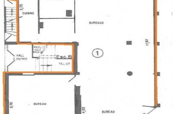 A LOUER Bureaux 150m2 ref 991552