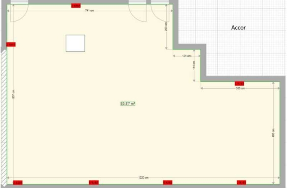A LOUER Bureaux 157m2 ref 991852