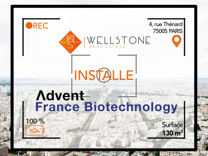 Wellstone installe la société Advent France Biotechnology