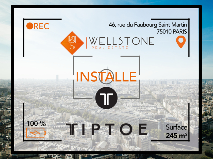 Wellstone installe la société TipToe