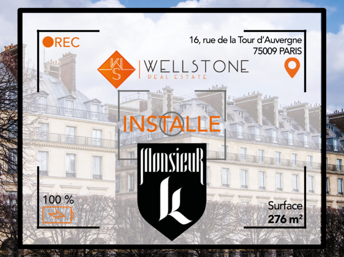 Wellstone installe le studio de production Monsieur K