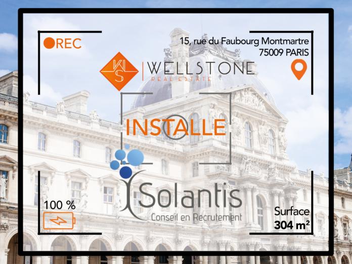 Wellstone installe le cabinet de recrutement Solantis