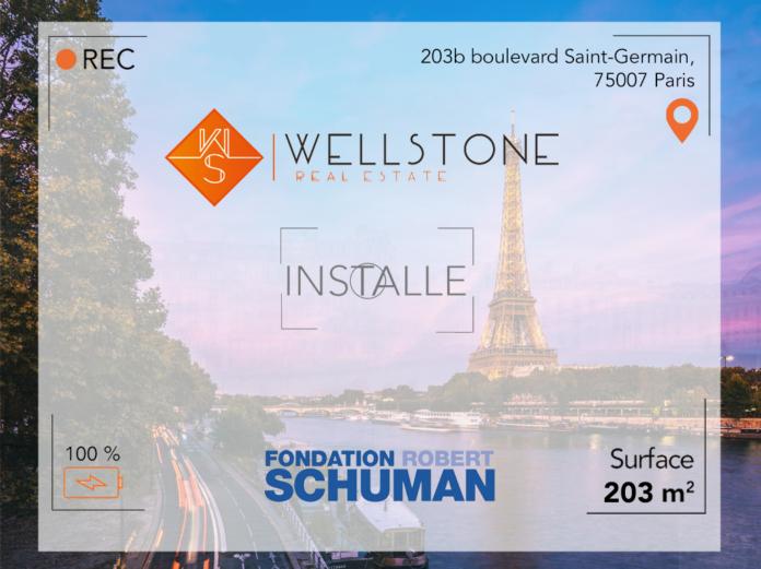 Wellstone installe la Fondation Robert Schuman