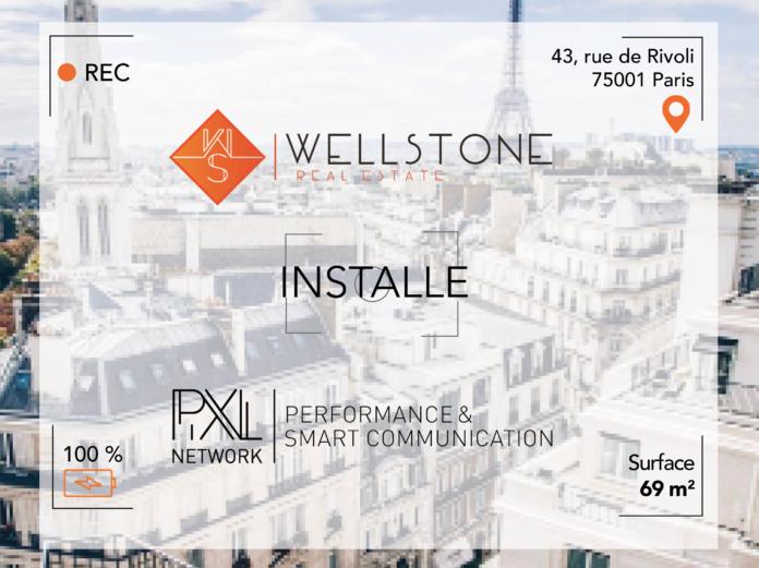 Wellstone installe Pixl Network