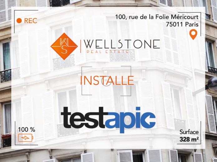 Wellstone installe Testapic