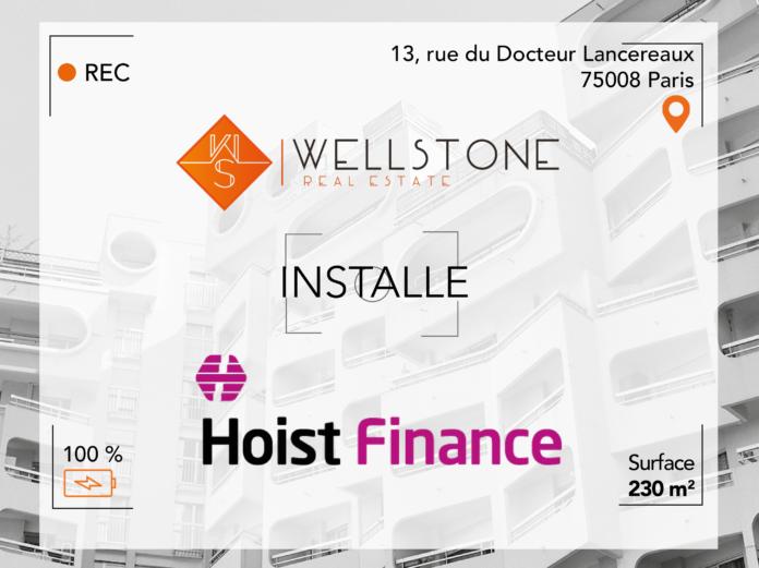Wellstone installe Hoist Finance
