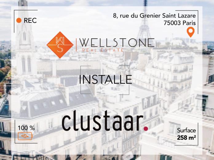 Wellstone installe Clustaar