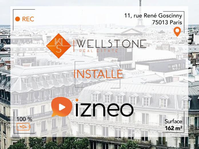 Wellstone installe Izneo
